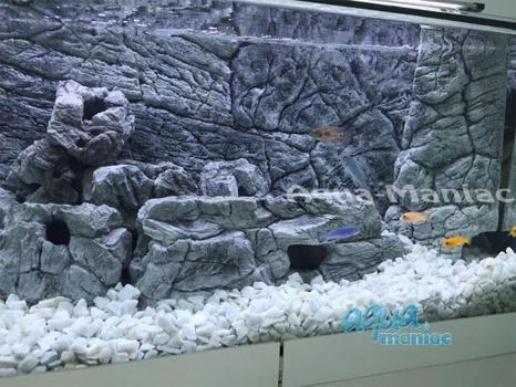 Aquarium Filter cover grey 38cm height