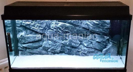 JUWEL RIO 125 3D grey rock background 78x42cm