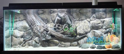 JUWEL Vision 450 3D Amazon Background 147x53cm in 3 sections