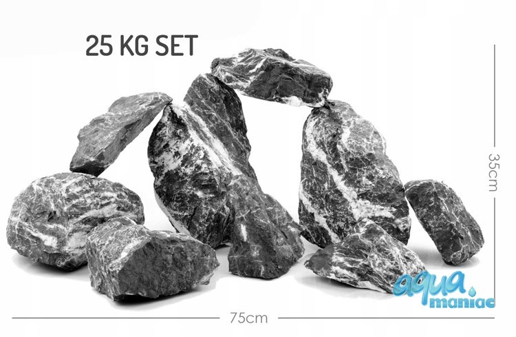 Nero Black & White Stone for hardscape
