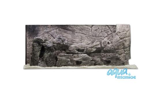 3D grey thin background 196x54cm