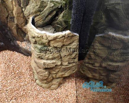 Aquarium Filter cover beige 38cm height