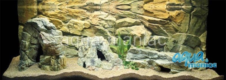 Bundle of 5 beige aquarium rocks - full set SAVE £15