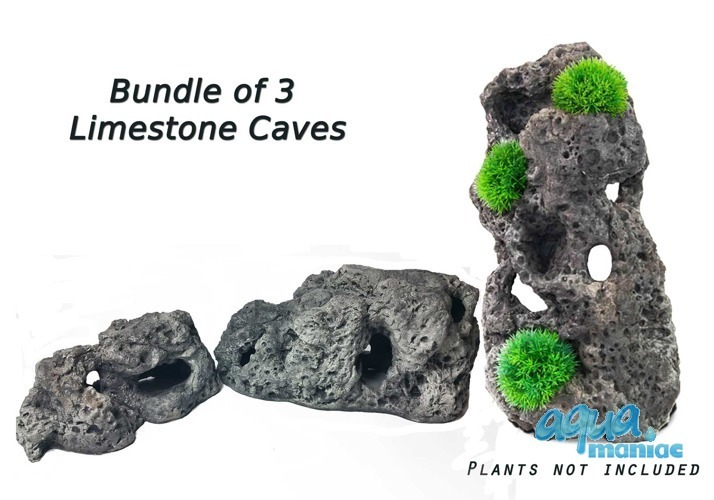 Bundle of Limestone Caves - 3 caves