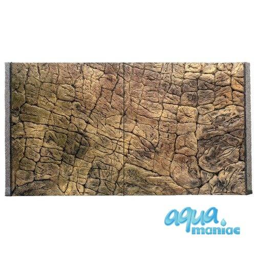 Fluval Vicenza 180 rock background 88x46cm 2 sections