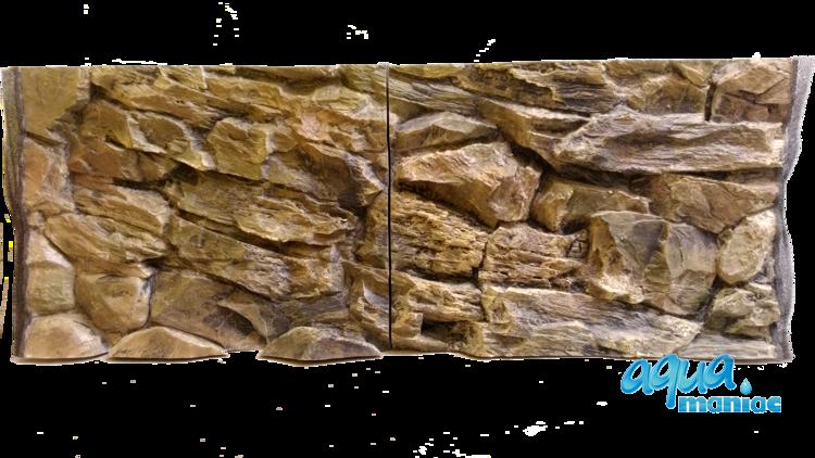 JUWEL RIO 125 3D rock background 98x40cm 2 sections