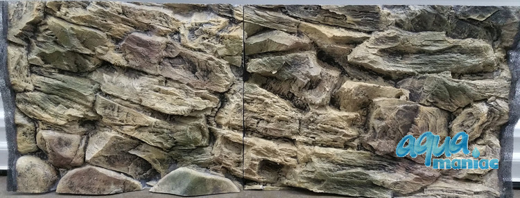 JUWEL Vision 260 3D rock background 117x54cm 2 sections