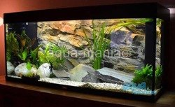 3D beige rock background 47x27cm