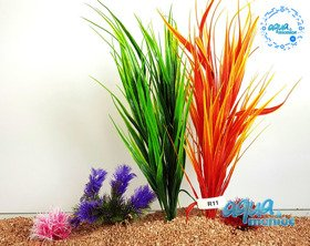 Aquarium Fake Plants Bundle - 5 pcs